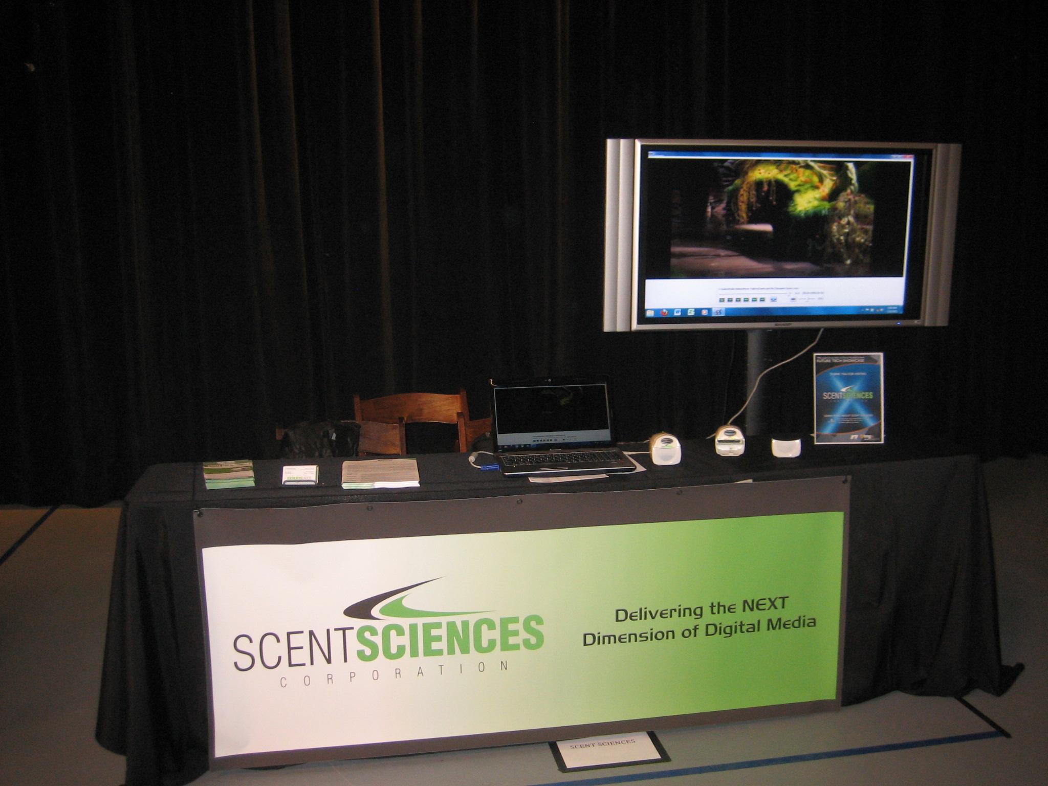On july 10th scent sciences ceo bill wiles flew into atlanta as