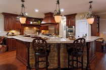 remodeled-kitchen-featuring-natural-cherry-cabinetry